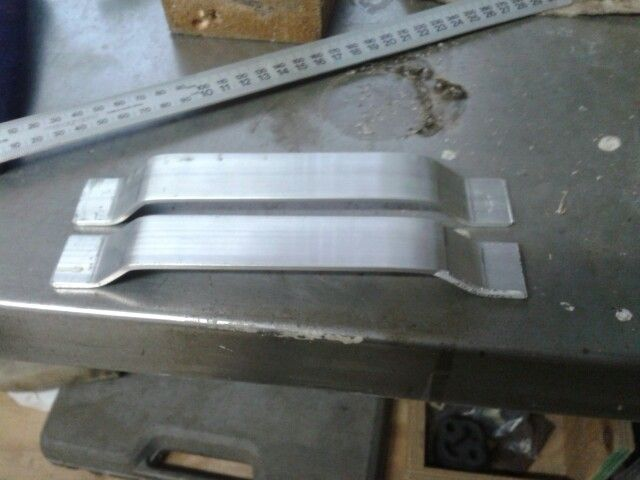 Door handle fabrication