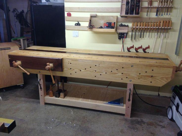 First Bench – Nicholson – by Woodwrestler @ LumberJocks.com ~ woodworking community