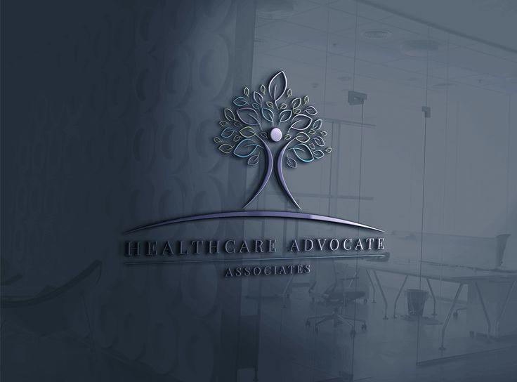 healthcare, logo concept, tree, leaf, people tree, life tree, health