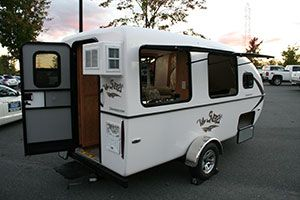 Snoozy.  Begin the fun of camping with your Lil Snoozy small travel trailer now. info@lilsnoozy.com