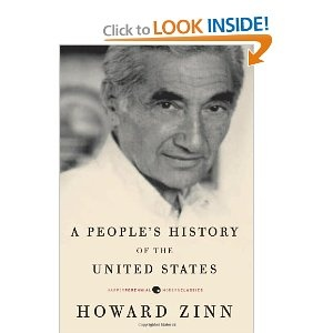 Howard Zinn's A People's History of the United States. I'm loving this book right now.