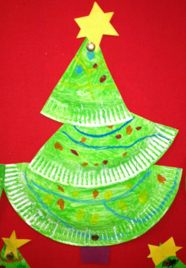A Crooked Little Paper Plate #Christmas Tree by The Teaching Tribune