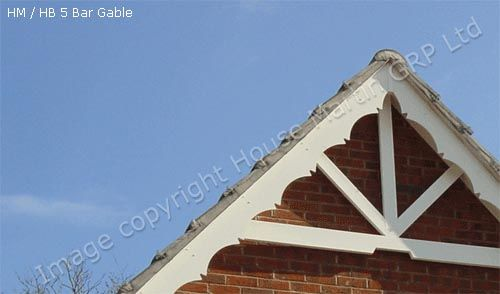 House martin construction decorative barge tudor boards