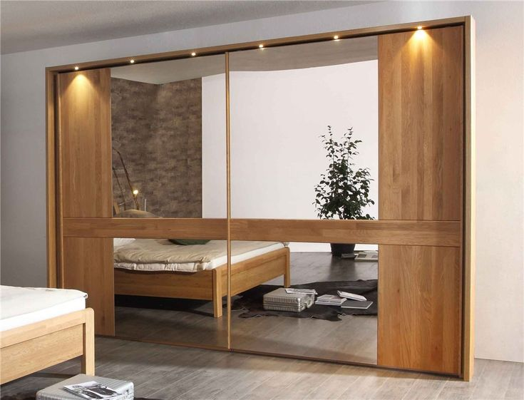 Chloe Modern Natural Solid Oak Wardrobe