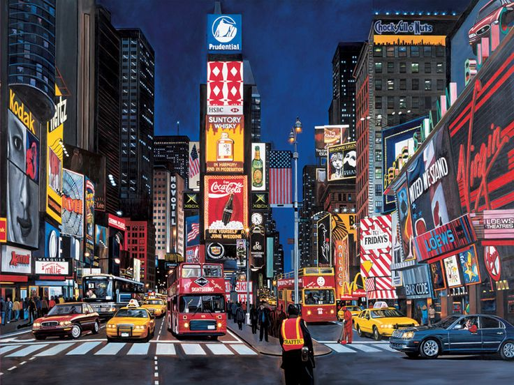 New York Time Square...miss it already, proves that I'm such a City Girl xD