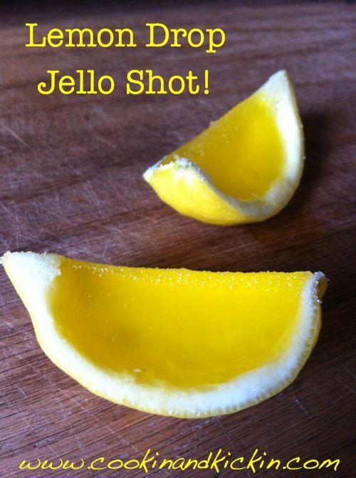 Cookin' And Kickin': Lemon Drop Jello Shots