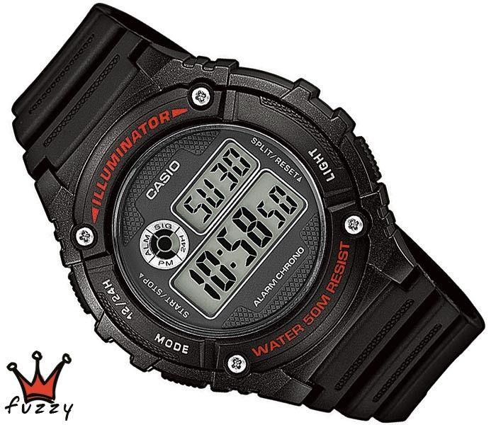 Ρολόι ανδρικό Casio (W-216H-1AVEF)