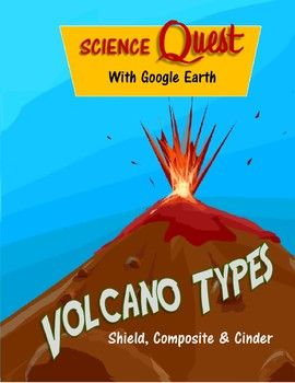This is a virtual field trip of the three types of volcanoes (Shield, Composite & Cinder) using Google Earth. Students use the desktop version of Google Earth to explore, make measurements and do calculations about each volcano. This 10 page packet includes: Directions for