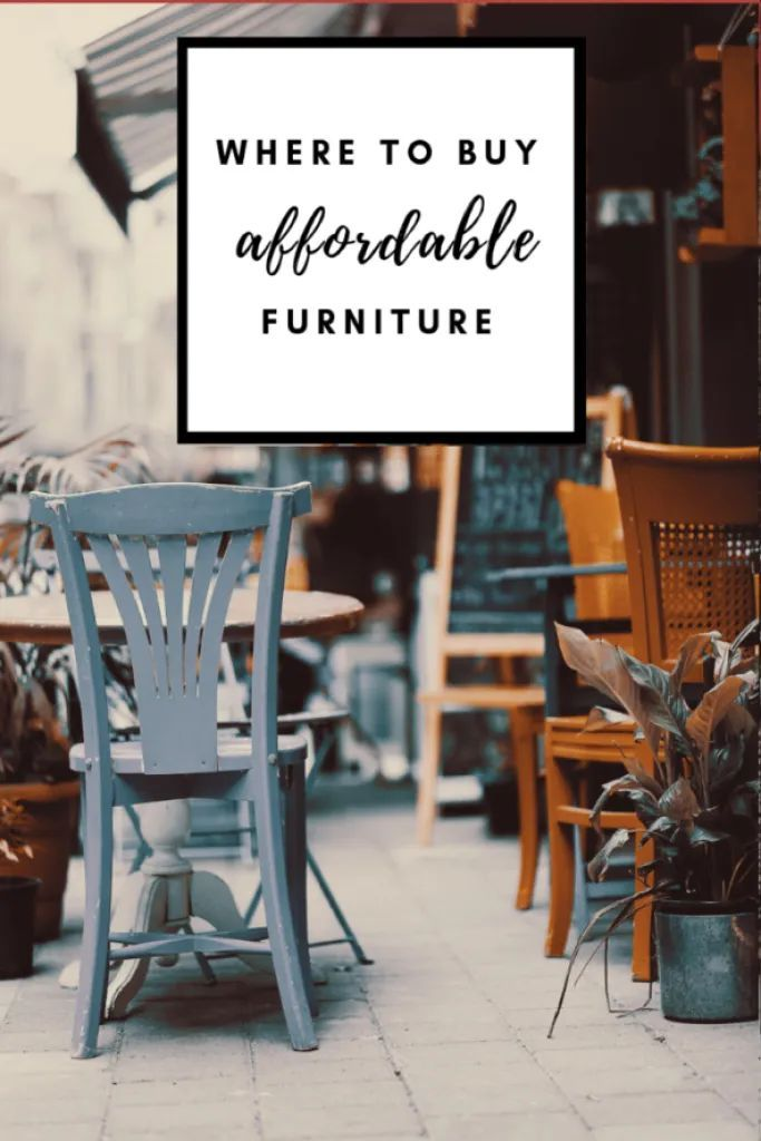 Affordable Secondhand Furniture