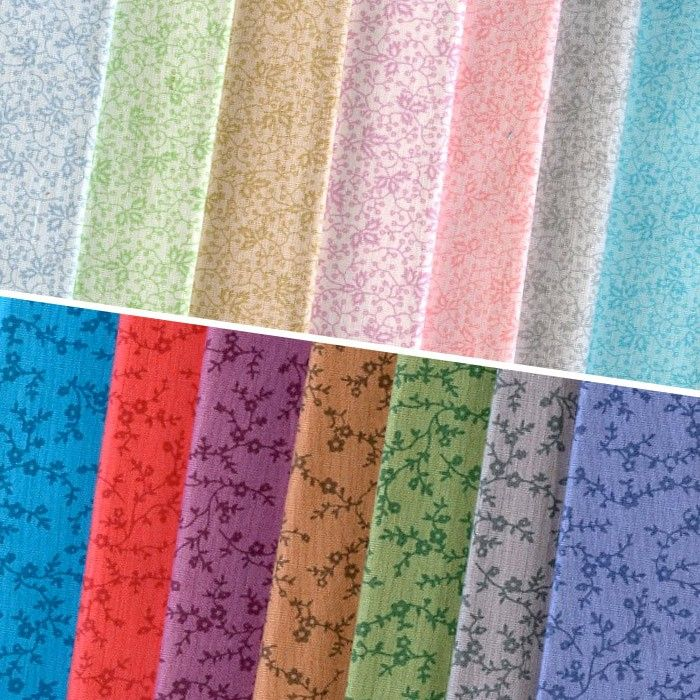 NEW Muted Moments 14pc Fat Quarter Pack