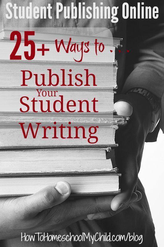 Student writing and publishing