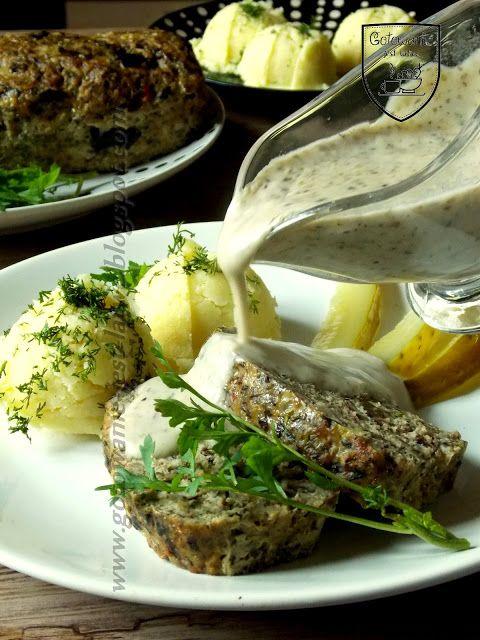 Gotowanie jest łatwe: Grzybowa pieczeń z sosem grzybowym
