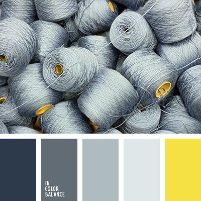 Bleu gris jaune