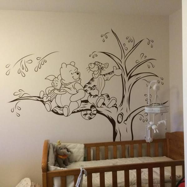Good Image Result For Winnie The Pooh Nursery Wall Stickers Part 15
