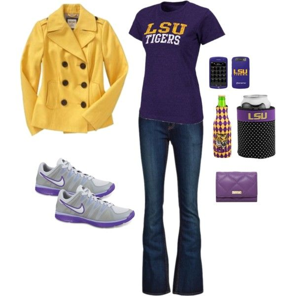 LSU game day