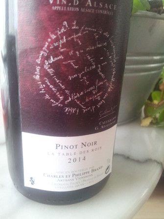 """Pinot noir """" la table des rois"""" 2014 #vin #naturel"""