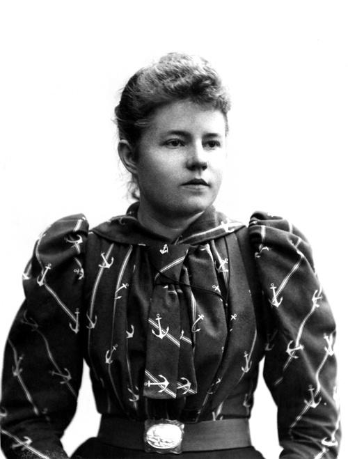 Signe Brander 1890-luvulla.