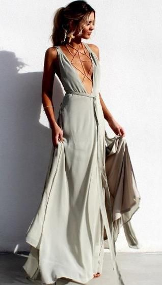 pretty flowy maxi dress.