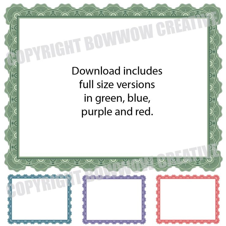 The 25+ best Blank certificate ideas on Pinterest Blank - microsoft word certificate borders
