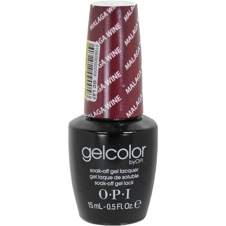 OPI GelColor Malaga Wine Soak-Off Gel Lacquer