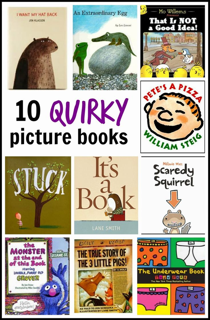 10 quirky books for children