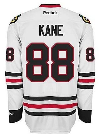 ... buy chicago blackhawks mens patrick kane premier road jersey with  authentic tackle twill lettering . f41bf 280a872f6