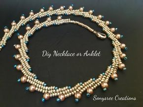 video: beaded necklace ~ Seed Bead Tutorials