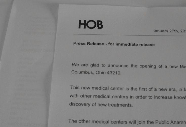 Comunicato stampa HOB Company - https://medium.com/@renato.mite/comunicato-stampa-della-hob-company-622cf56d4a90