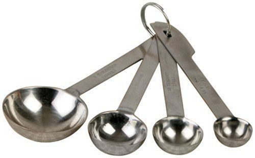 Good measuring spoons with measurements stamped