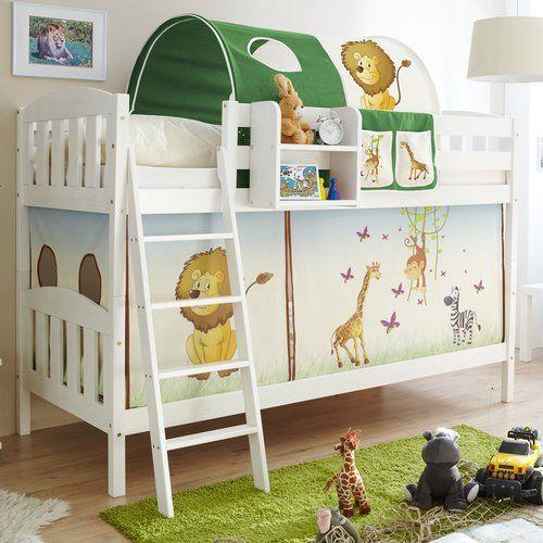 etagenbett erni country v safari mit vorhang 90 x 200 cm jetzt bestellen unter - Coolste Etagenbetten