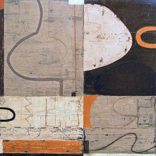 """MICHAEL SHEMCHUK  Float  44"""" x 44""""  acrylic on wood panel"""