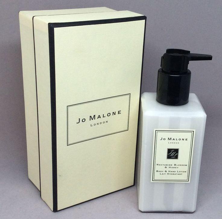 Jo Malone Nectarine Blossom Honey Body Hand Lotion with Pump 8.5 oz 250 ml MIB #JoMalone