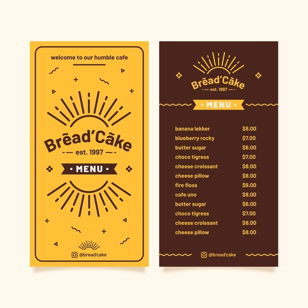 Free Editable Indian Food Menu Writing Frames 2 Styles Great For