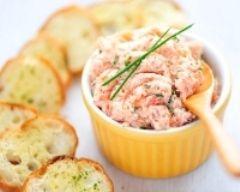 Rillettes minceur aux deux saumons (facile, rapide) - Une recette CuisineAZ
