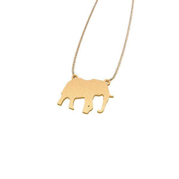 Elephant 3D jewelry