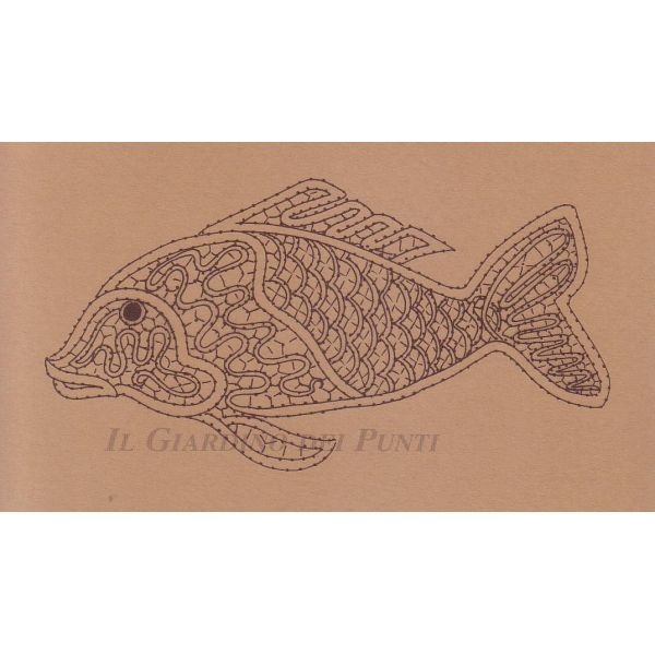 Idrija style lace fish