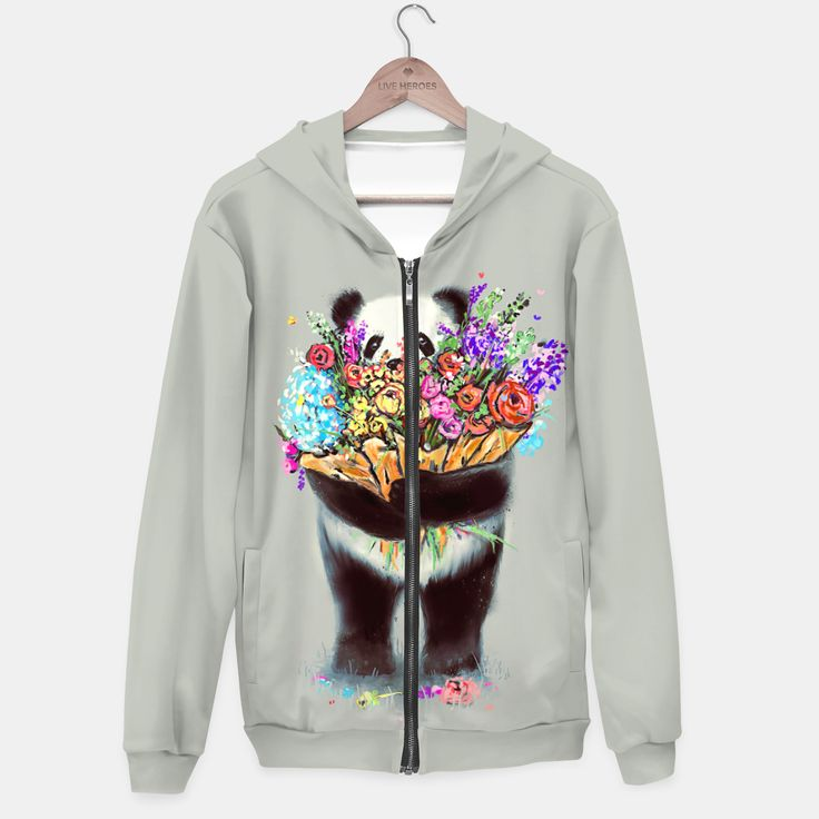 Flowers For You Hoodie, Live Heroes