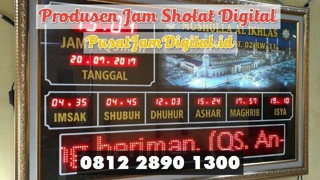 Jadwal Sholat Elektronik Di Pelalawan Wa 0813 2530 0071 Produksi