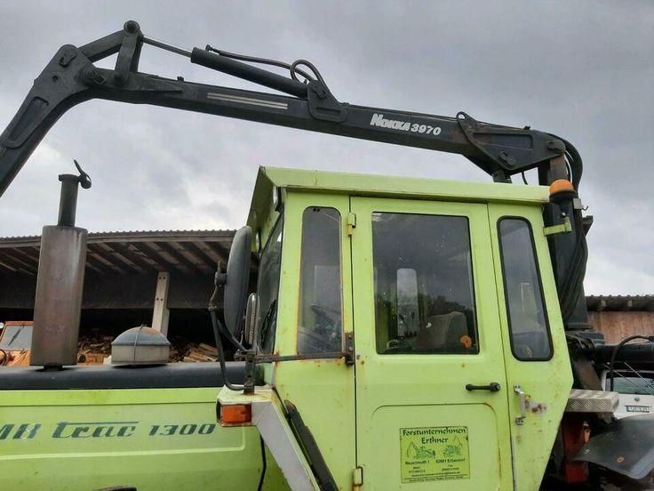 Mb Trac 1300 mit Forstkran Ladekran Forstschlepper in