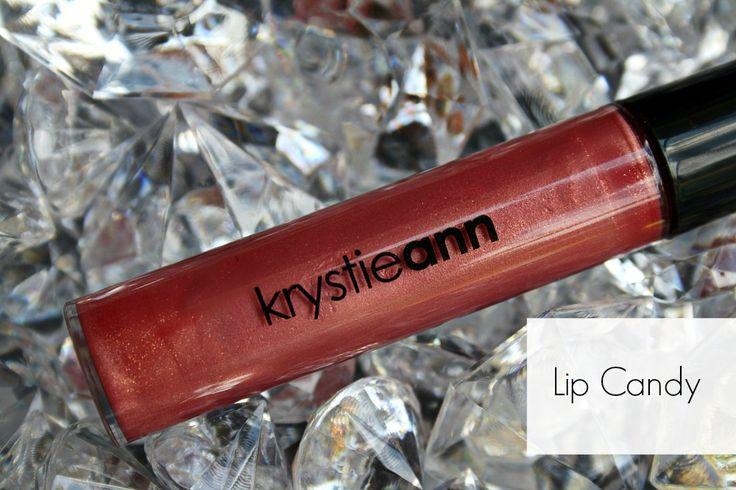 Krystie Ann Cosmetics: Lip Gloss  Shade: Lip Candy  Price: $15  Lip gloss, makeup, cosmetics, brown gloss, nude gloss, nude lip  www.krystieann.com