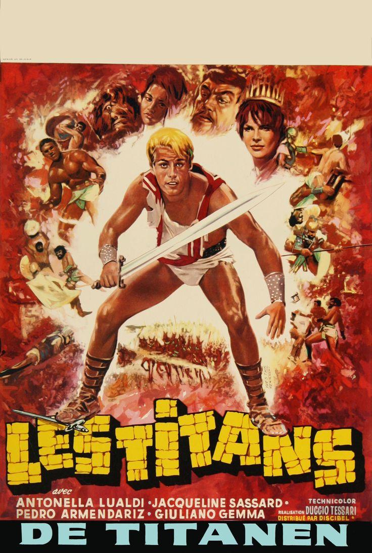 Les Titans (1962) aka My Son The Hero   Giuliano Gemma ...