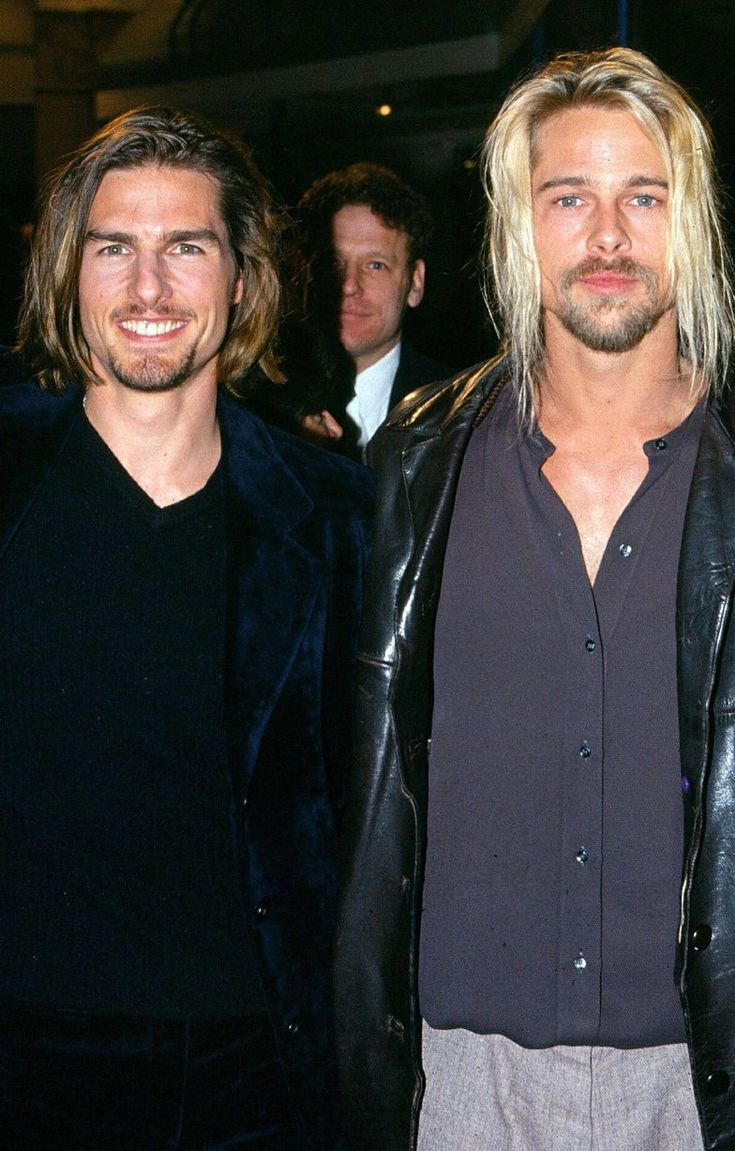 Tom Cruise and Brad Pitt: Lestat and Louise