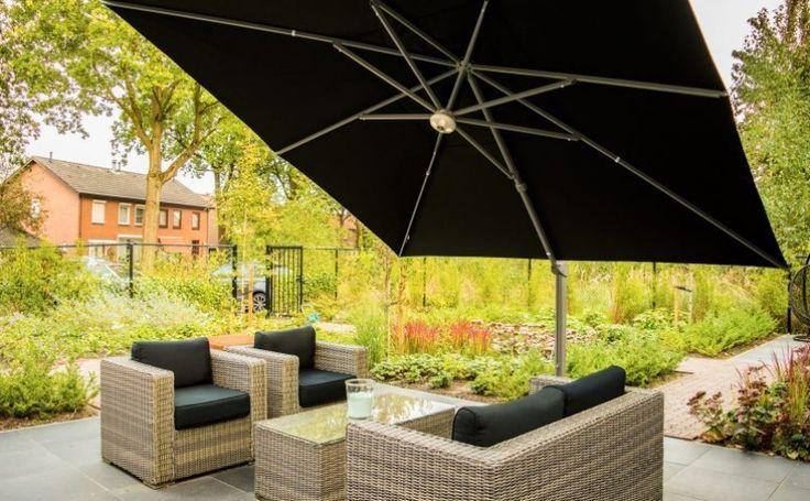die besten 25 sonnenschirm mit kurbel ideen auf pinterest sonnenschirm ampelschirm. Black Bedroom Furniture Sets. Home Design Ideas