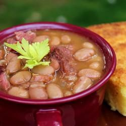 Awesome recipe! Southern Ham and Brown Beans Allrecipes.com