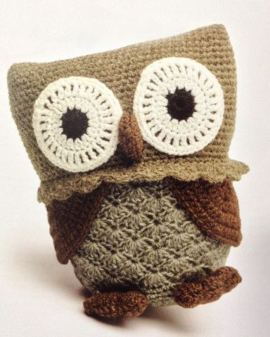 Absolutely adorable amigurumi owl