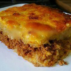 Pastelón de Plátano Maduro (Dominican food)