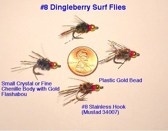 surf perch fly patterns