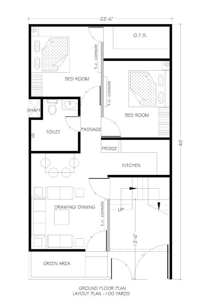 22 5x40 house plans for dream house - House plans | MUKESH