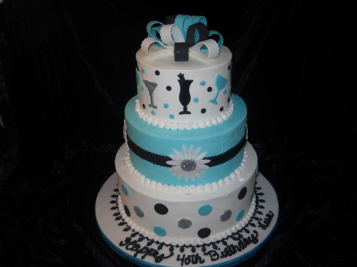 Cake Ideas For 40th Birthday Female : birthday cake ideas for women turning 40 - Google Search ...