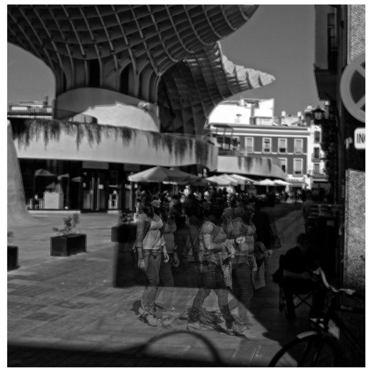 Walking in Sevilla